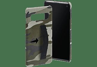 HAMA Camouflage Loop, Backcover, Samsung, Galaxy S10, Grün/Schwarz/Weiß