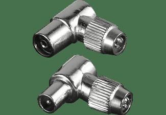 HAMA Koax 90° Antennen-Stecker/-Kupplung