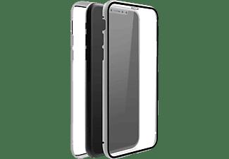 BLACK ROCK 360° Glass, Full Cover, Apple, iPhone 11, Silber