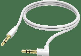 HAMA 3.5-mm-Klinken-Stecker Kabel Weiß