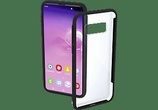 HAMA Frame, Backcover, Samsung, Galaxy S10+, Transparent/Schwarz