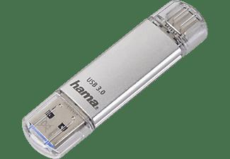HAMA C-Laeta USB-Stick, 32 GB, 40 MB/s, Silber
