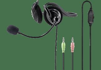 HAMA NHS-P100, Neckband Headset Schwarz