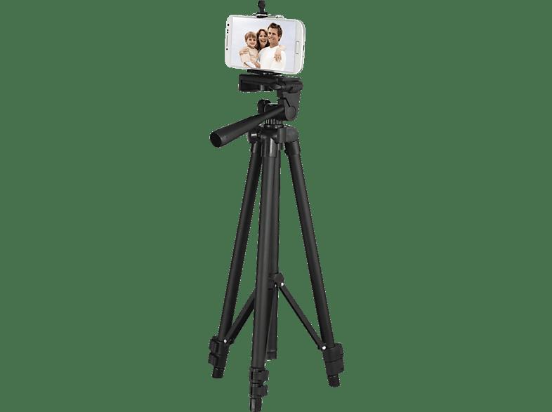 HAMA Star Smartphone 112 BRS3 Dreibein Stativ, Schwarz, Höhe offen bis cm