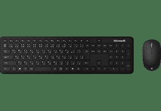 MICROSOFT Bluetooth Desktop, Tastatur & Maus Set, Schwarz