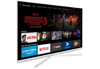 GRUNDIG 55 GUW 8040 FIRE TV EDITION LED TV (Flat, 55 Zoll / 139 cm, UHD 4K, SMART TV, FireTV Experience)