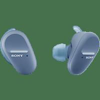 SONY True Wireless Sportkopfhörer WFSP800N mit Noise Cancelling, blau