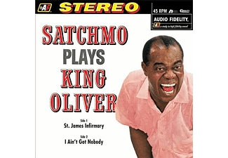 Louis Armstrong - Satchmo Plays King Oliver (180 gram, Audiophile Edition) (45 RPM) (Vinyl LP (nagylemez))