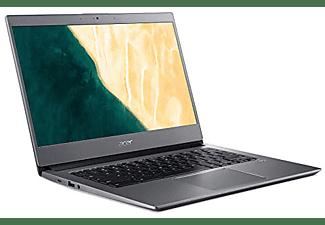 "Portátil - Acer Chromebook 714, 14"" Full-HD, Intel® Core™ i3-8130U, 4 GB, 64 GB eMMC, Chrome OS, Plata"