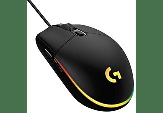 Ratón gaming - Logitech G203 Lightsync 2nd Gen Ratón Gaming 8000DPI RGB Negro