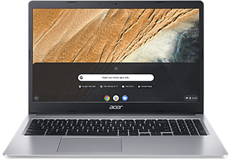 "Portátil - Acer Chromebook CB315-3HT, 15.6"" FHD, Intel® Pentium® Silver N5030, 8 GB, 128 GB, Chrome OS, Plata"