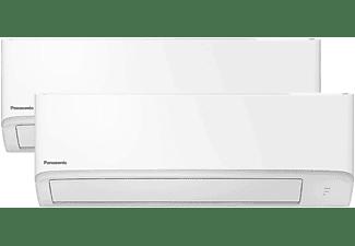 REACONDICIONADO Aire acondicionado - Panasonic Multisplit 2x1 Inverter KIT-2TZ2535-WBE, A++