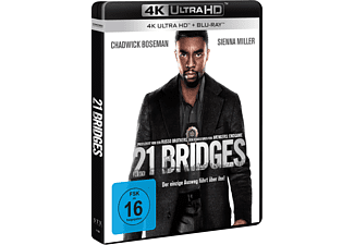 21 Bridges 4K Ultra HD Blu-ray + Blu-ray