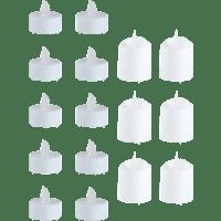 GRUNDIG LED Flackernde Teelichter, Weiß, Warmweiß