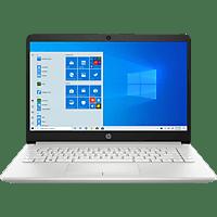 HP 14-cf3335ng, Notebook mit 14 Zoll Display, Core™ i3 Prozessor, 8 GB RAM, 512 GB SSD, Intel® UHD Grafik, Silber