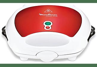 MOULINEX SW 6125 Red Ruby Snack-Kombigerät Weiß/Rot metallic