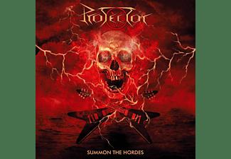 Protector - SUMMON THE HORDES (YELLOW VINYL/POSTER)  - (Vinyl)