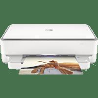 HP Multifunktionsdrucker ENVY 6032 Cement Inkl. 5 Probemonate Instant Ink