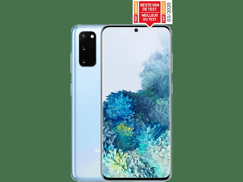 SAMSUNG Smartphone Galaxy S20 4G 128 GB Cloud Blue (SM-G980FLBDEUB)