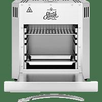 BOB-HOME BH004 Steakhousegrill Elektrogrill, Edelstahl (2800 Watt)
