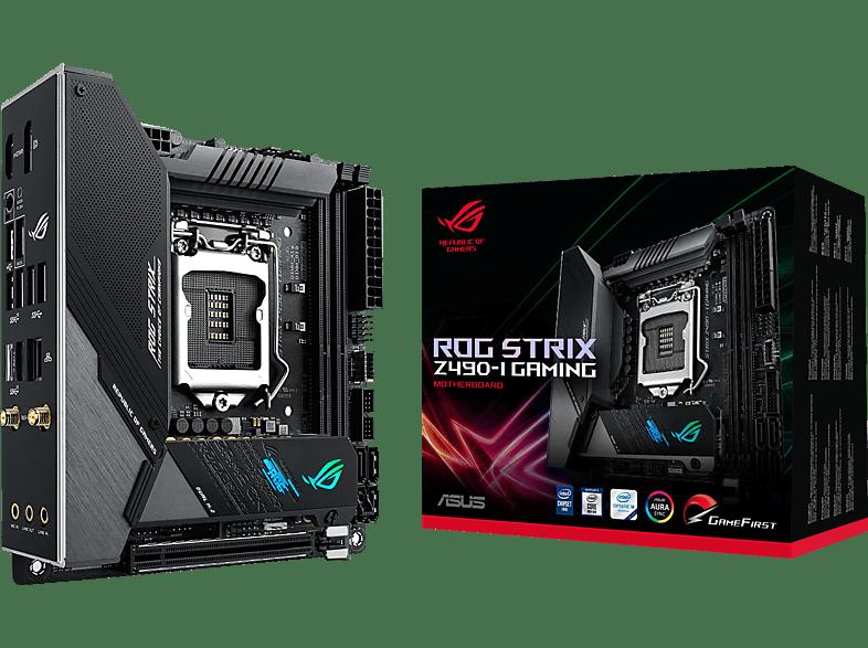ASUS ROG STRIX Z490-I GAMING Gaming-Mainboard Schwarz