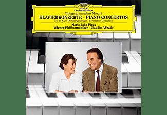 Maria Joao Pires, Wiener Philharmoniker, Claudio A - MOZART - KLAVIERKONZERTE 14&26 CORONATION  - (Vinyl)