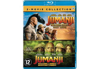 Jumanji - Welcome To The Jungle & Jumanji - The Next Level - Blu-ray