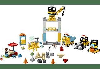 LEGO 10933 Große Baustelle mit Licht und Ton Bausatz, Mehrfarbig