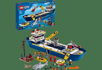 LEGO 60266 Meeresforschungsschiff Bausatz, Mehrfarbig