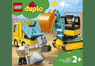 LEGO 10931 Bagger und Laster Bausatz, Mehrfarbig