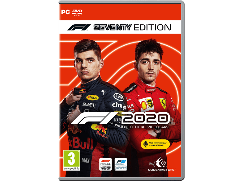 F1 2020 Seventy Edition NL/FR PC