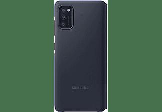 """SAMSUNG S View Wallet Cover """"EF-EA415"""" für Galaxy A41, Schwarz"""
