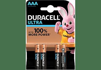 Pilas AAA - Duracell Ultra Power (4pcs) Alcalino 1.5V batería no-recargable