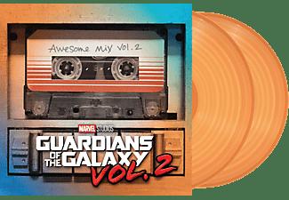 VARIOUS - GUARDIANS AWESOME MIX 2 (LTD.COLOUR MSG)  - (Vinyl)