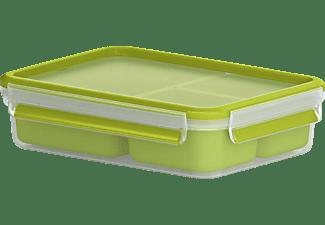 EMSA 518100 Clip & Go Snackbox Transparent/Grün