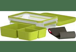EMSA 518098 Clip & Go Lunchbox Transparent/Grün