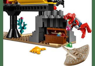 LEGO 60265 Meeresforschungsbasis Spielset, Mehrfarbig