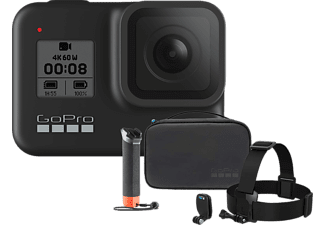 GOPRO Hero8 Black Action Cam Bundle mit Adventure Kit