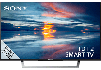 "TV LED 32"" - Sony KDL32WD753, Full HD, 2 HDMI, SCART, 2  USB, Ethernet, Salida auriculares, A, Negro"