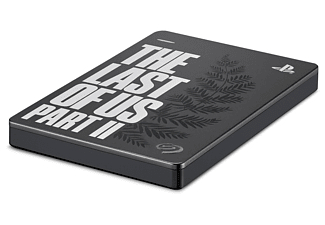 SEAGATE Game Drive for PS4 - The Last of Us II Special Edition, 2 TB, Externe Festplatte, Grau