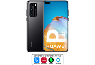 "Móvil - Huawei P40, Negro, 128 GB, 8 GB, 6.1"" Full HD+, Kirin 990, 3800 mAh, 5G, Android"