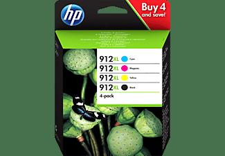 HP 912XL Tintenpatrone Schwarz, Cyan, Magenta, Gelb (3YP34AE)