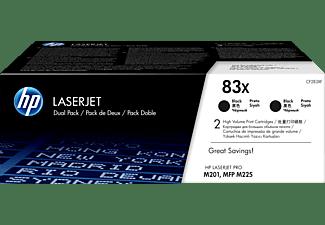 HP 83X Doppelpack Schwarz