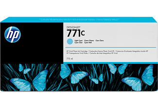 HP 771C Tintenpatrone Helle Cyan (B6Y12A)
