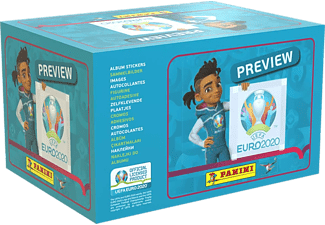 PANINI UEFA EURO 2020 Stickerbox - Preview Collection - Images autocollantes (Multicolore)