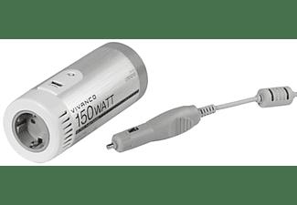 VIVANCO Fahrzeugspannungswandler mit USB Ladefunktion, 12V/230V, 150W