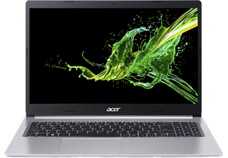 ACER Notebook Aspire 5 Silber, i5-1035G1, 8GB RAM, 512GB SSD, GeForce® MX350, 15.6 Zoll FHD