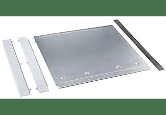 Accesorio encimera -  Miele UBSW1/G para colocación estable de lavadora bajo encimera, Inox