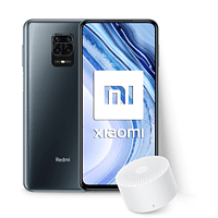 "Móvil - Xiaomi Redmi Note 9 Pro, Gris, 128GB, 6GB, 6.67"" FHD+, Qualcomm® Snapdragon™ + Mi Bluetooth Speaker 2"