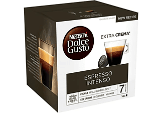Cápsulas monodosis - Dolce Gusto Espresso Intenso, Pack de 16 cápsulas para 16 tazas